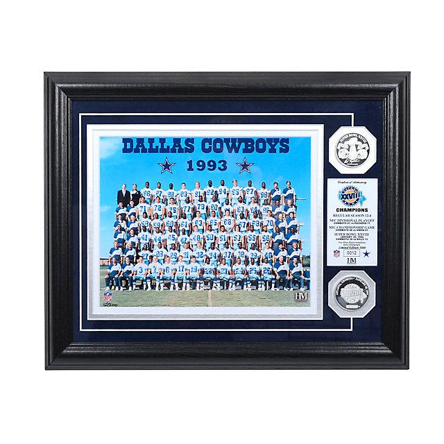 Dallas Cowboys 1993 Super Bowl Championship Team Photo Mint