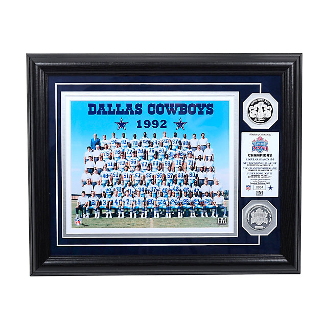 Dallas Cowboys 1992 Super Bowl Championship Team Photo Mint