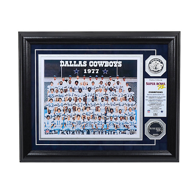Dallas Cowboys 1977 Super Bowl Championship Team Photo Mint