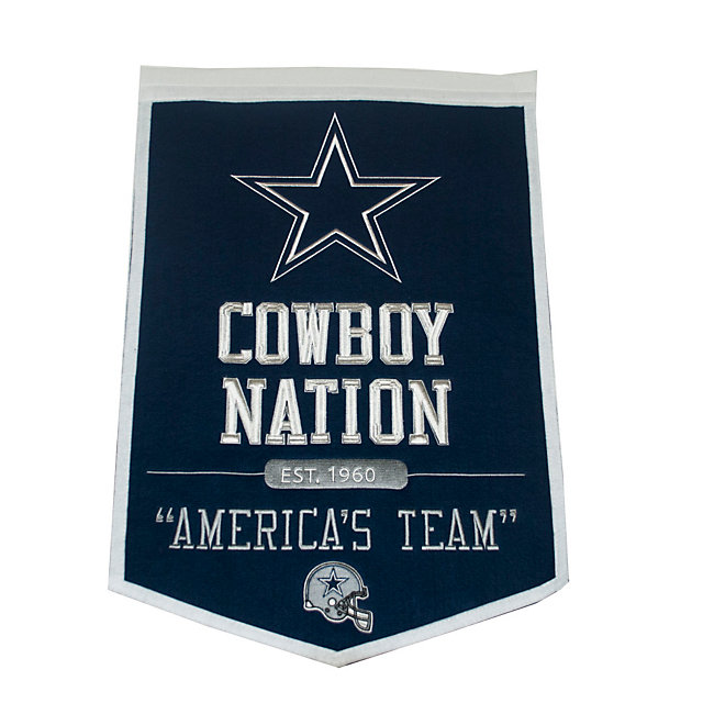 Dallas Cowboys Powerhouse Banner
