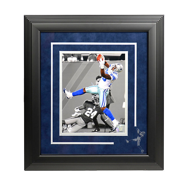 Dallas Cowboys Dez Bryant Framed Photo with Etched Image