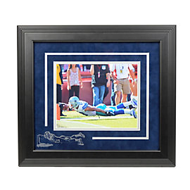 Dallas Cowboys Miles Austin Framed Photo with Etched Image