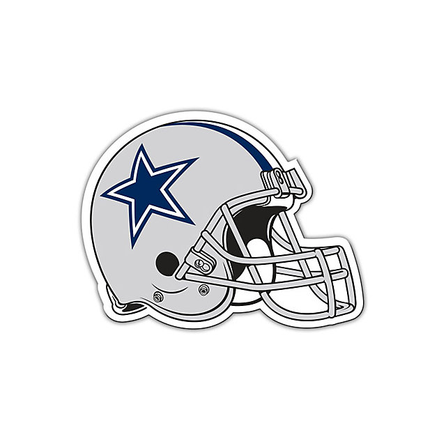 Dallas Cowboys Helmet Magnet - 8 Inch