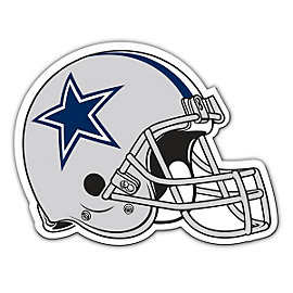 Dallas Cowboys Helmet Magnet - 12 Inch