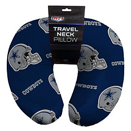 Dallas Cowboys Beaded Helmet Print Neck Pillow