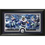 Dallas Cowboys Jason Witten Panoramic Photo Mint with Coin