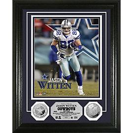 Dallas Cowboys Witten Silver Coin Photo Mint