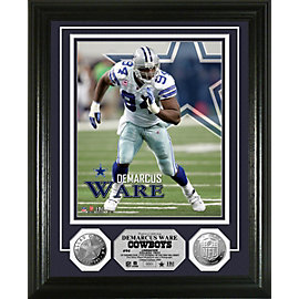 Dallas Cowboys Ware Silver Coin Photo Mint