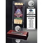 Dallas Cowboys Super Bowl 28 Ticket & Game Coin Collection Acrylic