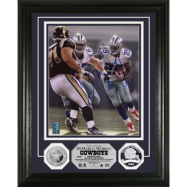 Dallas Cowboys DeMarco Murray Autographed Photo Mint
