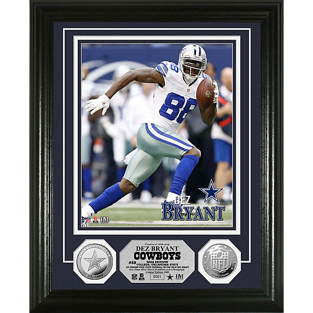 Dallas Cowboys Bryant Silver Coin Photo Mint