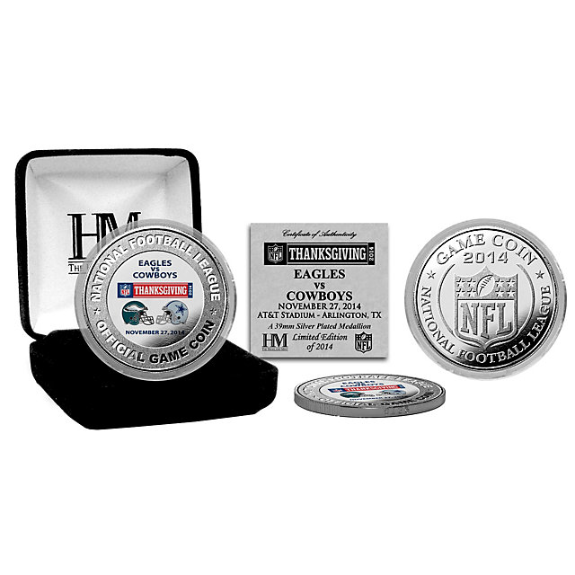 Dallas Cowboys 2014 Thanksgiving Day Game Coin