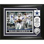 Dallas Cowboys Romo Silver Coin Photo Mint