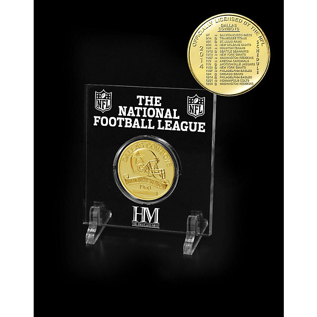 Dallas Cowboys Bronze 2014 Schedule Coin