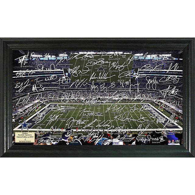 Dallas Cowboys 2014 Signature Gridiron Framed Photo
