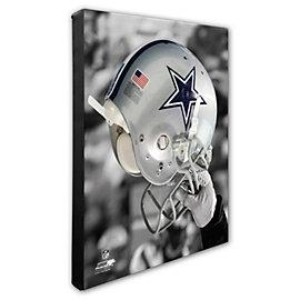 Dallas Cowboys 16x20 Spotlight Helmet Canvas