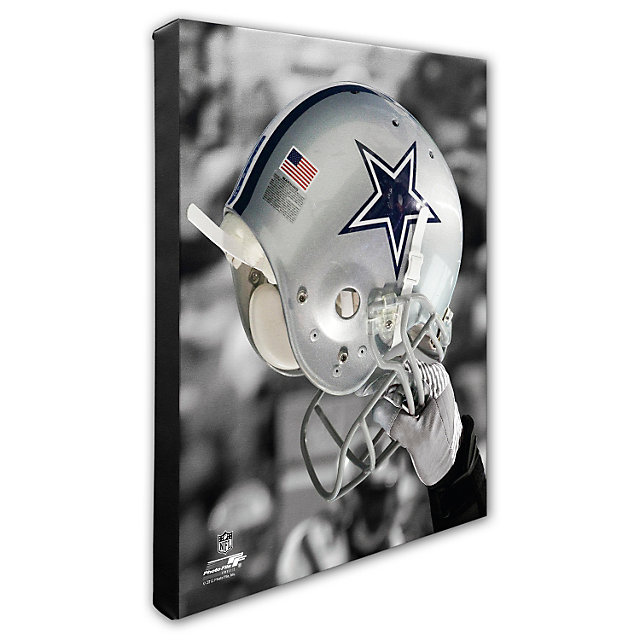 Dallas Cowboys 16x20 Spotlight Helmet Canvas