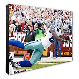 Dallas Cowboys 16x20 Dez Bryant Record Touchdown Catch Canvas