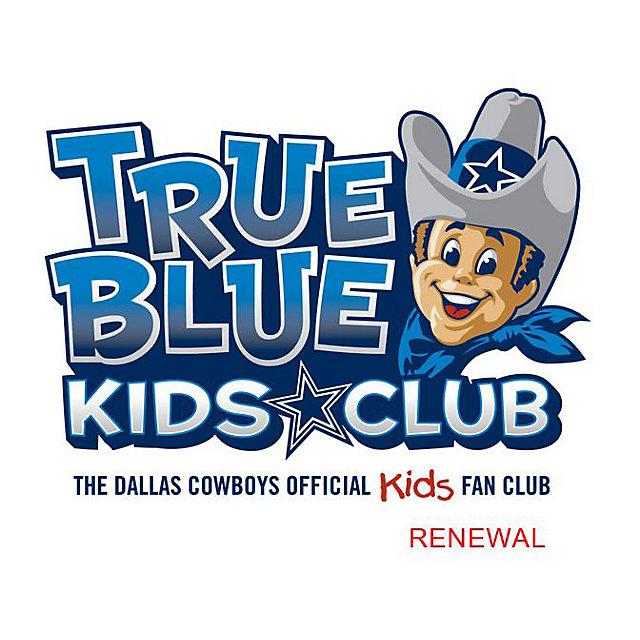 Dallas Cowboys True Blue Kids Club Renewal