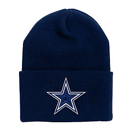 Dallas Cowboys Youth Basic Knit Hat