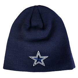 Dallas Cowboys Youth Basic Cuffless Knit Hat