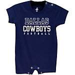Dallas Cowboys Infant Practice Tee Romper