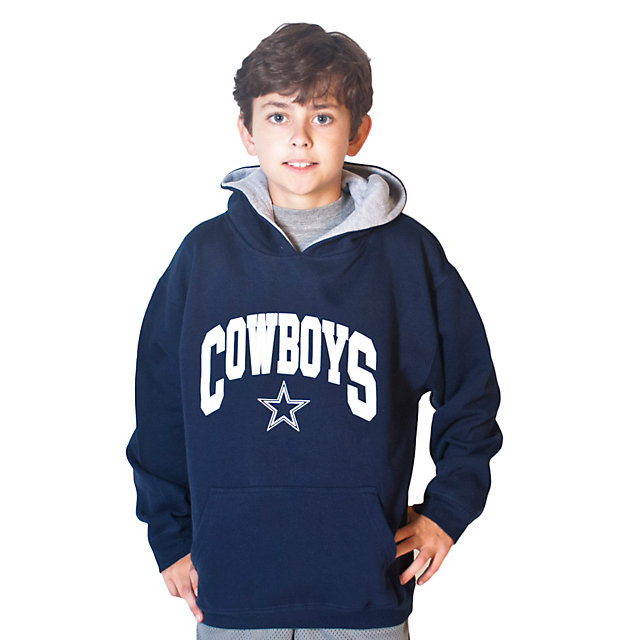 Dallas Cowboys Youth Team Logo Hoodie