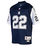 Dallas Cowboys Double Star Reebok E. Smith #22 Premier Jersey
