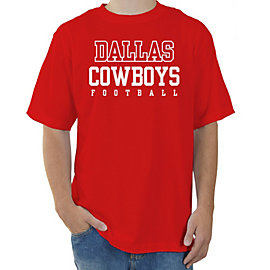 Dallas Cowboys Red Practice T-Shirt
