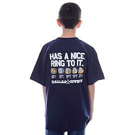 Dallas Cowboys Youth Nice Rings Tee