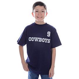 Dallas Cowboys Youth Game Gear Tee Romo #9