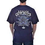 Dallas Cowboys 50th Logo Stats T-Shirt