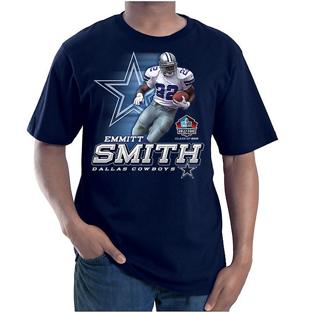 Dallas Cowboys Emmitt Smith HOF History Maker T-Shirt