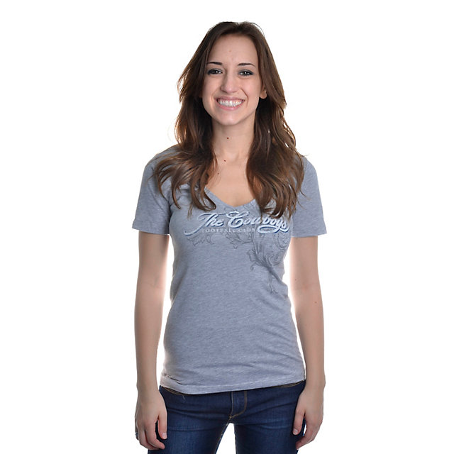 Dallas Cowboys Sweet Dreams V-Neck T-Shirt