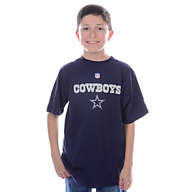 Dallas Cowboys Youth Authentic Tee