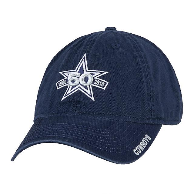 Dallas Cowboys 50th Anniversary Slouch Adjustable Cap