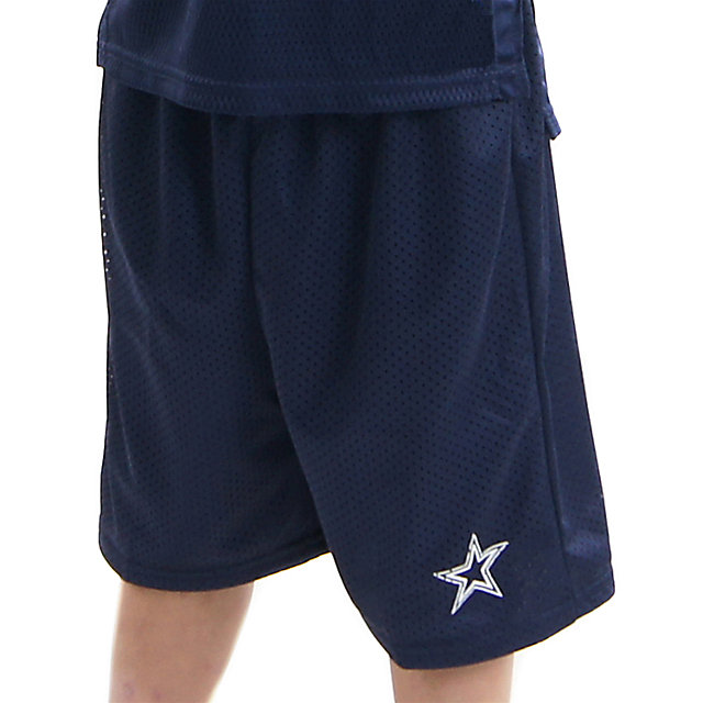 Dallas Cowboys Youth Mesh Shorts