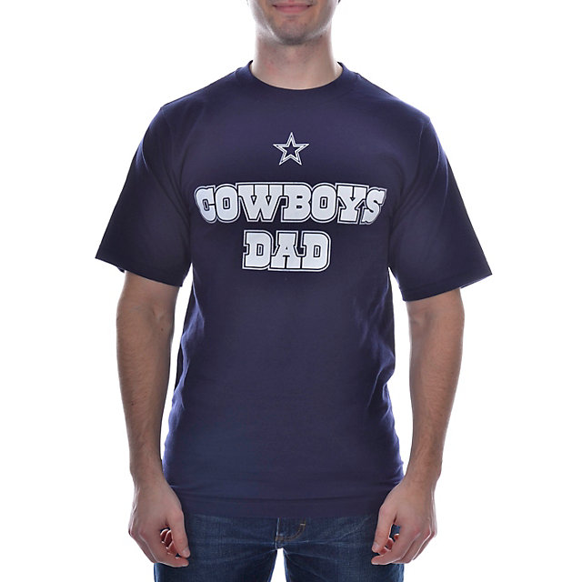 Dallas Cowboys Number One Dad T-Shirt