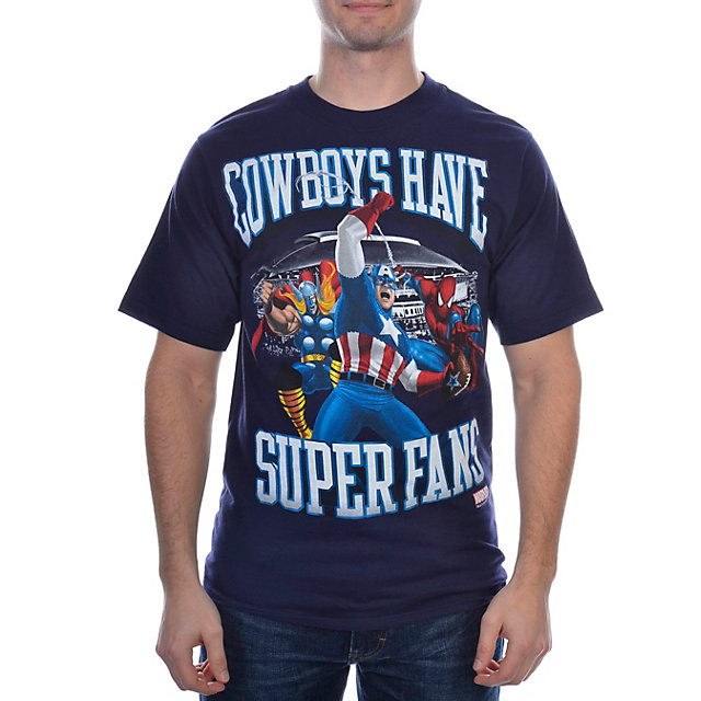Dallas Cowboys MARVEL Super Fans T-Shirt