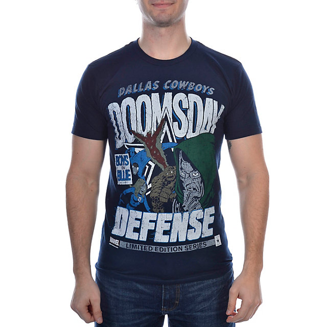 Dallas Cowboys MARVEL Dr. Doomsday Defense T-Shirt