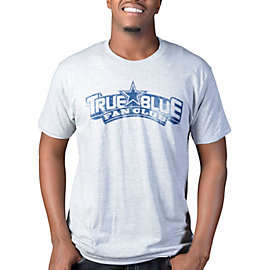 Dallas Cowboys TRUE BLUE Distressed Logo T-Shirt