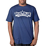 Dallas Cowboys TRUE BLUE Distressed Logo T-Shirt