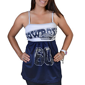 Dallas Cowboys Erma Tube Top