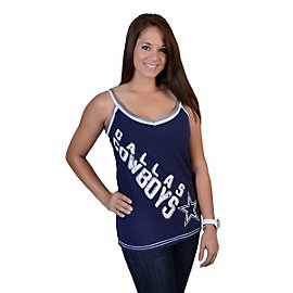 Dallas Cowboys Womens Dazzle Halter Top