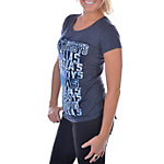 Dallas Cowboys Womens Banded T-Shirt