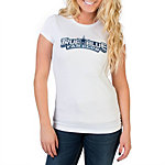 Dallas Cowboys Womens TRUE BLUE Logo T-Shirt