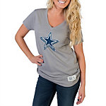 Dallas Cowboys TRUE BLUE Star Slub T-Shirt
