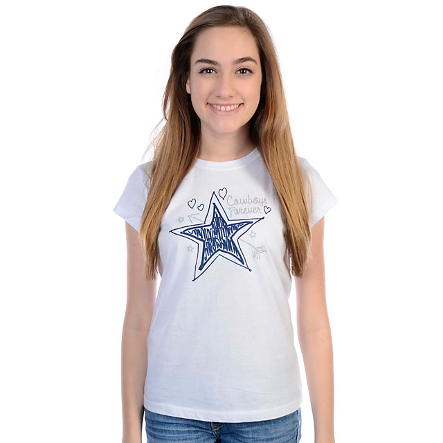 Dallas Cowboys Girls Jelly Bean T-Shirt