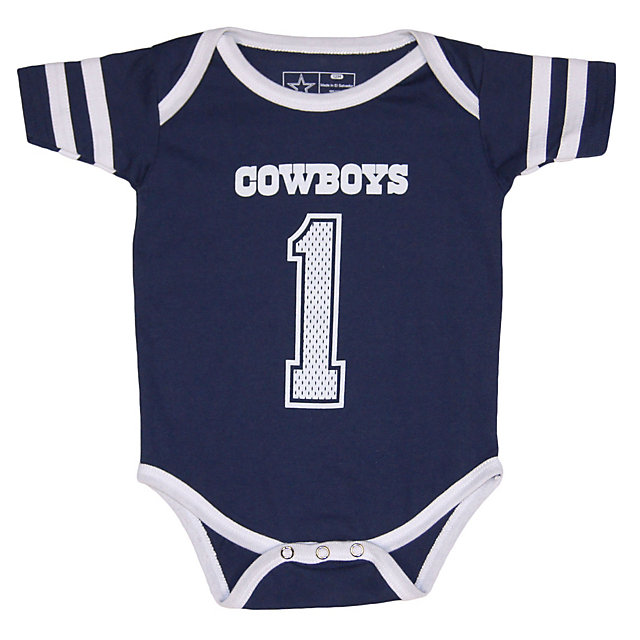 Dallas Cowboys Infant Catch One Catch All Bodysuit