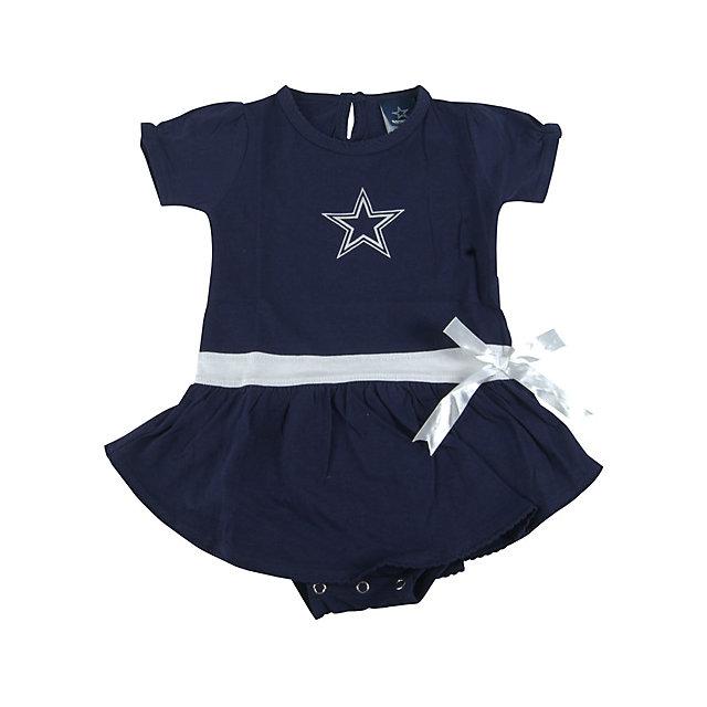 Dallas Cowboys Infant Mary Go Round Dress
